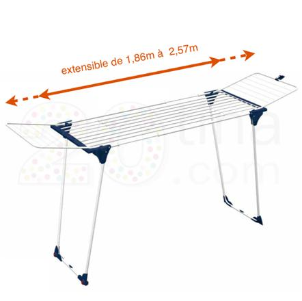 etendoir a linge extensible