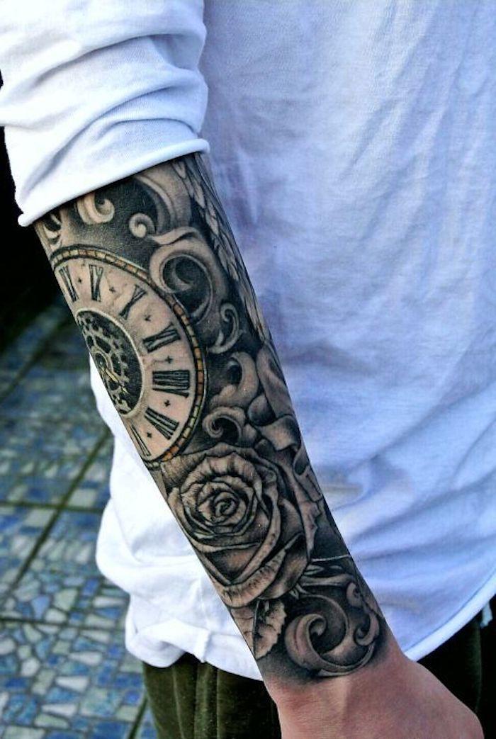 exemple de tatouage homme