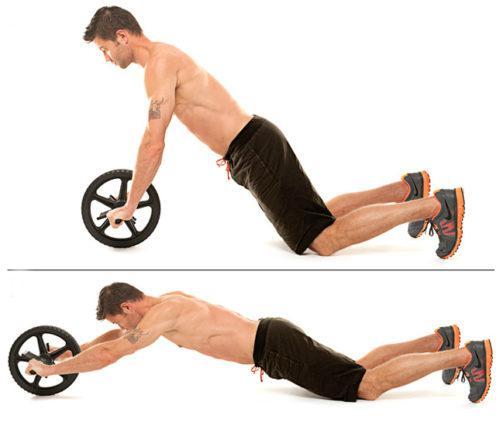 exercice roue abdos