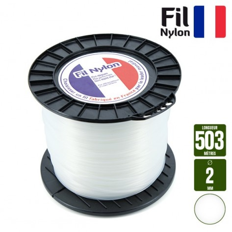 fil debroussailleuse 2 mm