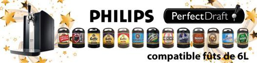 fut compatible tireuse a biere philips