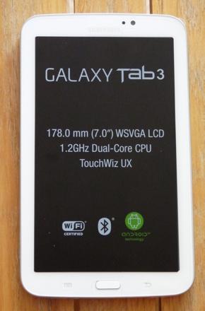 galaxy tab 3 7 pouce