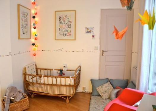 guirlande lumineuse chambre bebe