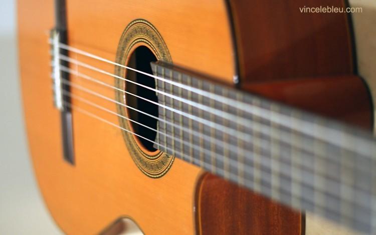 guitare classique fond d'écran