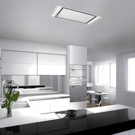 hotte de cuisine plafond