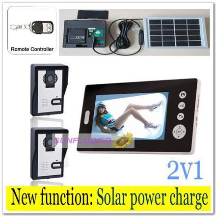 interphone sans fil solaire