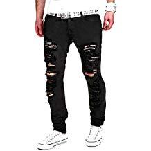 jeans troué homme