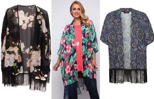 kimono femme grande taille