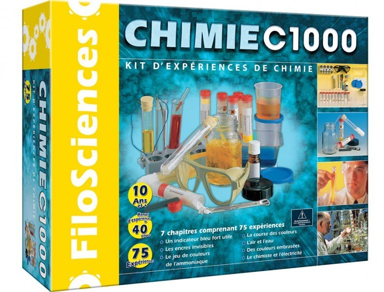 kit de chimie adulte