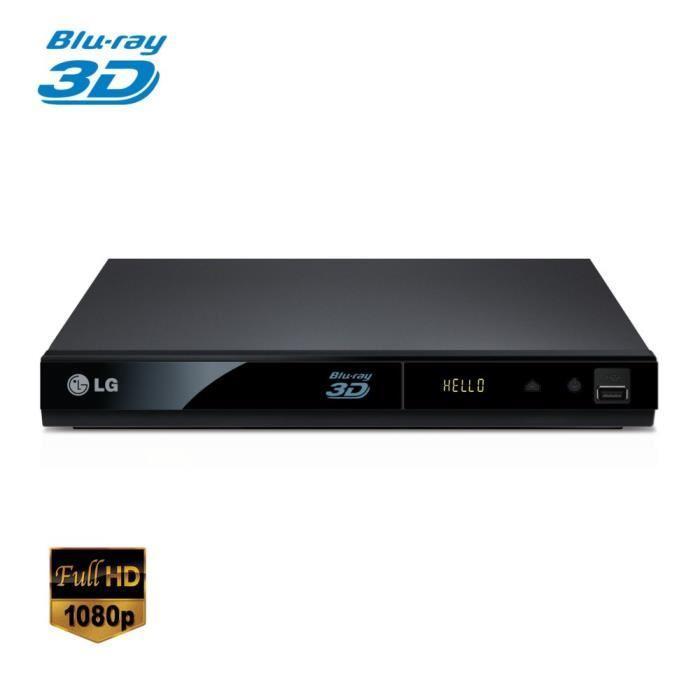 lecteur dvd blu ray 3d