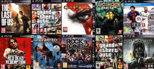 les meilleurs jeux playstation 3