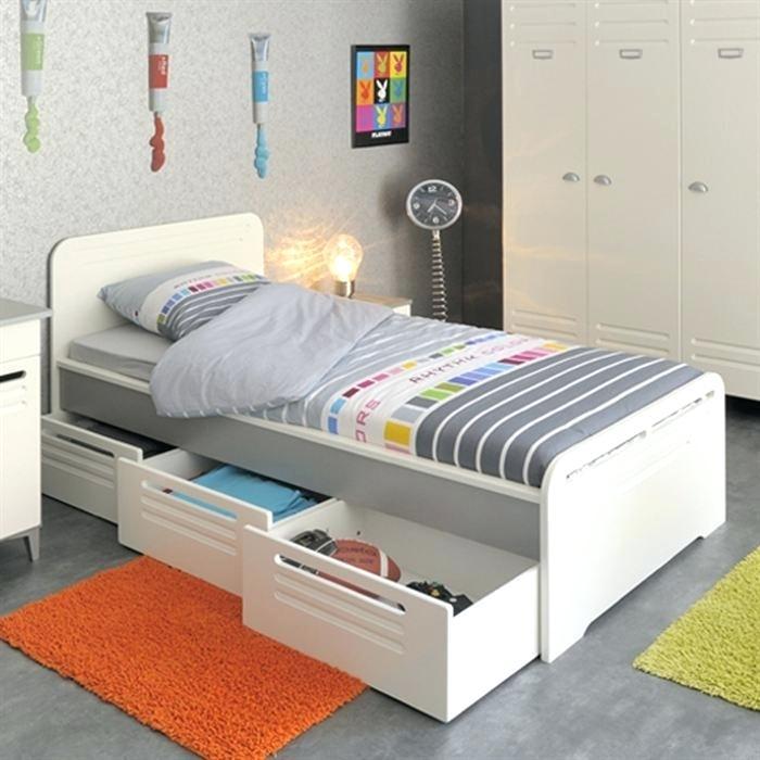 lit 1 place avec tiroir
