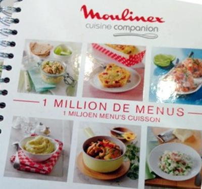 livre de recette moulinex companion