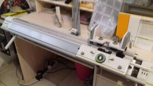machine à tricoter singer