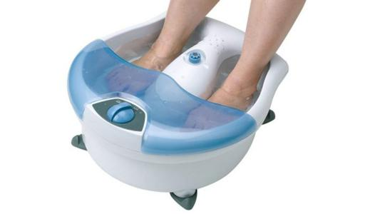 machine bain de pied