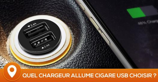 meilleur chargeur allume cigare