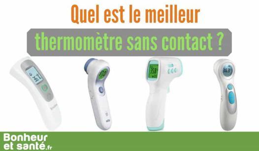 meilleur thermometre sans contact