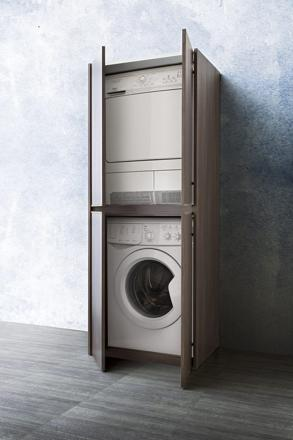 meuble machine à laver encastrable