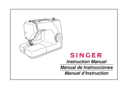 mode emploi machine a coudre singer