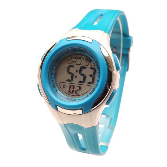 montre digitale enfant