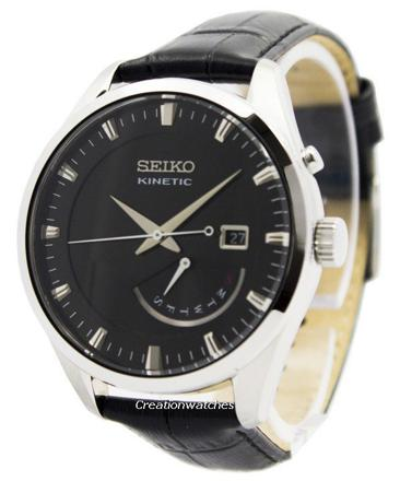 montre seiko kinetic homme