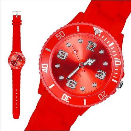 montre silicone