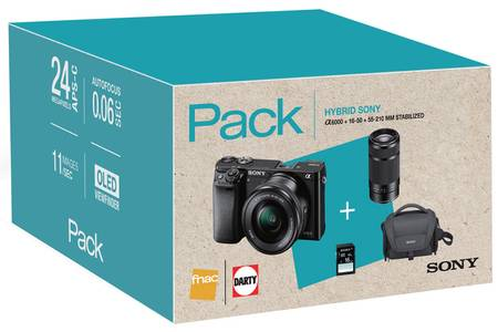 pack appareil photo hybride