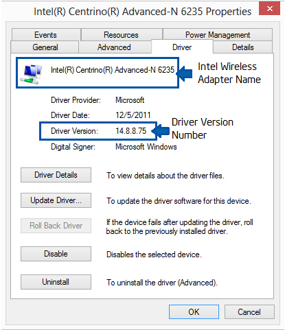 pilote carte wifi windows 8