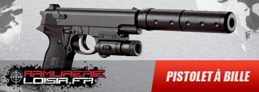 pistolet a bille electrique pas cher
