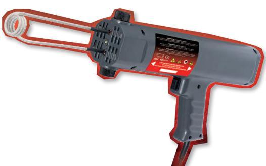 pistolet à chaleur par induction