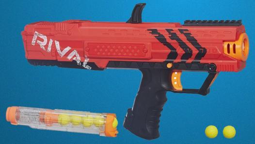 pistolet nerf avec balles mousse