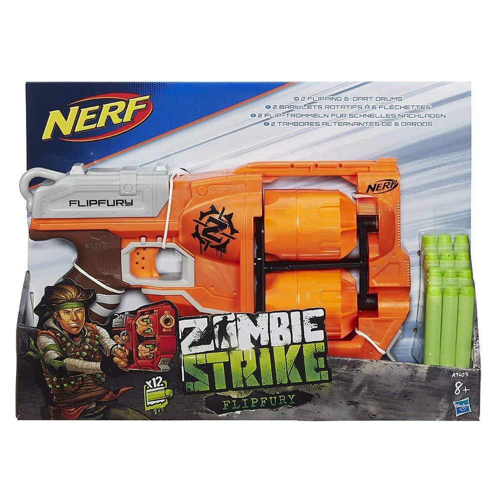 pistolet nerf zombie flipfury