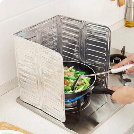 plaque anti projection cuisine