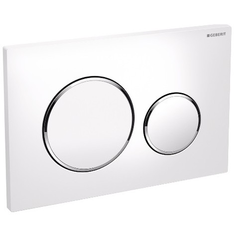 plaque wc geberit