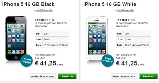 prix iphone 5s sans forfait