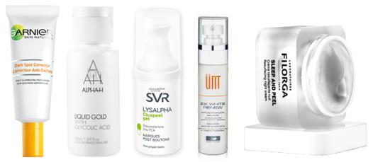 produit pour cicatrice acné