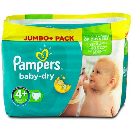 promotion couches pampers taille 4