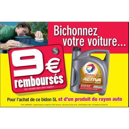 promotion huile moteur