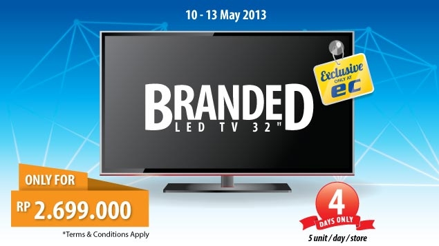 promotion tv led
