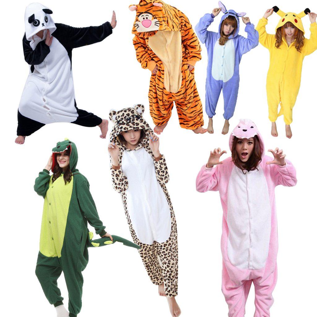 pyjama combinaison animaux fille