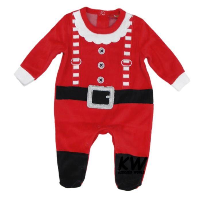 pyjama de noel bébé