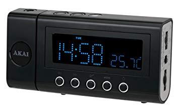 radio réveil akai