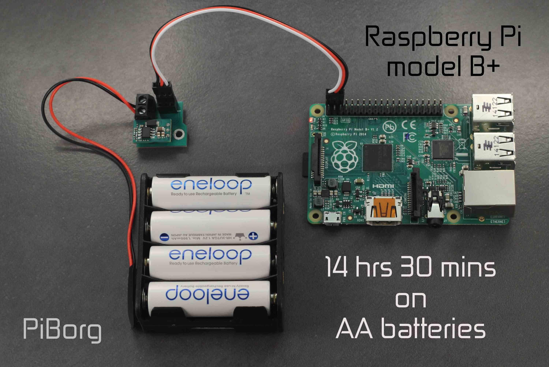 raspberry batterie
