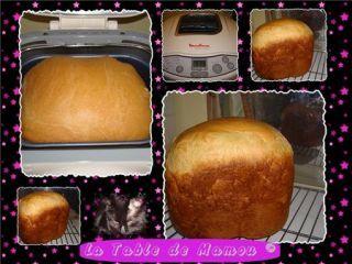recette pain machine à pain moulinex