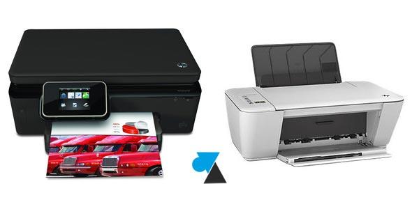 réinstaller imprimante hp