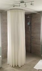 rideau douche grande hauteur