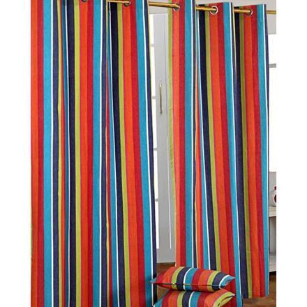 rideau multicolore