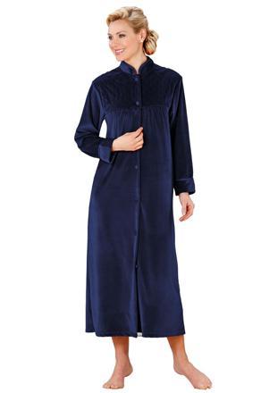 robe de chambre velours