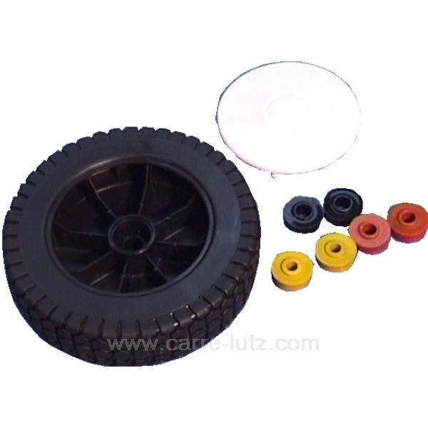 roue universelle tondeuse gazon