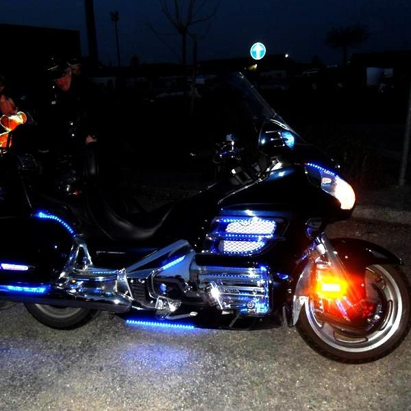 ruban led moto